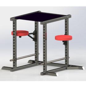 Power Rack Table